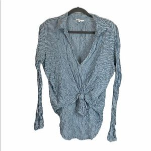 Lou and Grey Crinkle Blouse